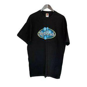 Vintage Myrtle Beach S/S Black T-Shirt Men's 2XL